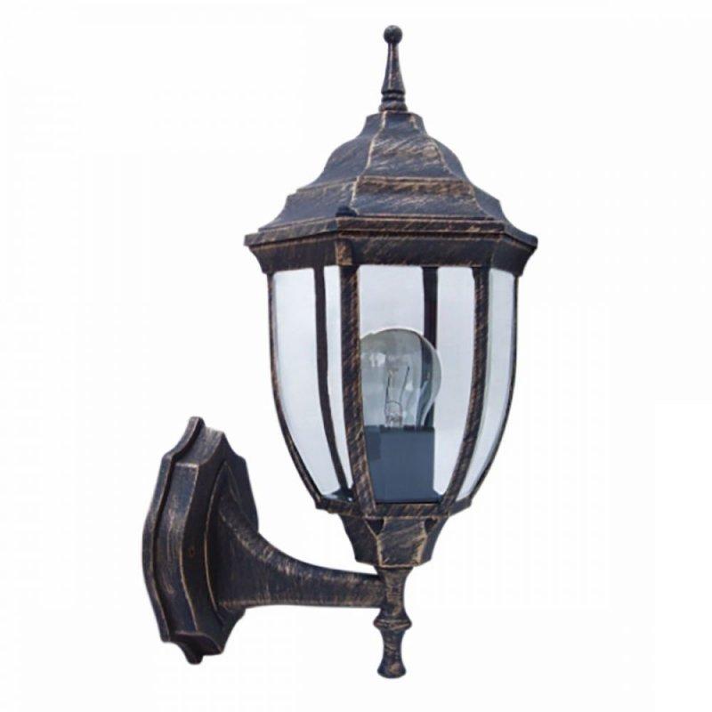 Светильник парковый RIGHT HAUSEN (метал/античное золото) 60W E27 вверх HN-19.3.02.8