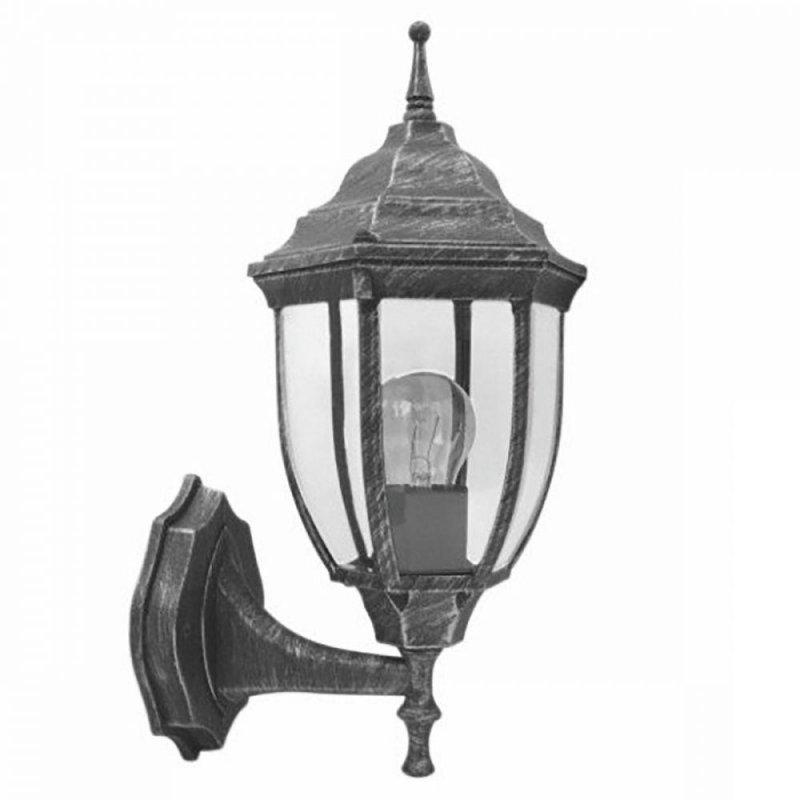 Светильник парковый RIGHT HAUSEN (метал/античное серебро) 60W E27 вверх HN-19.3.02.9