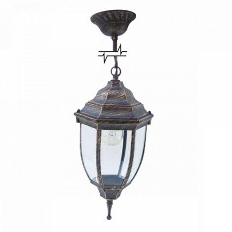 Светильник парковый RIGHT HAUSEN (метал/античное золото) 60W E27 на цепи HN-19.3.03.8