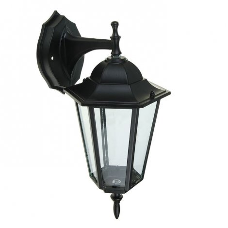 Светильник парковый RIGHT HAUSEN (метал/стекло/черный) 60W E27 вниз HN-19.3.01.2