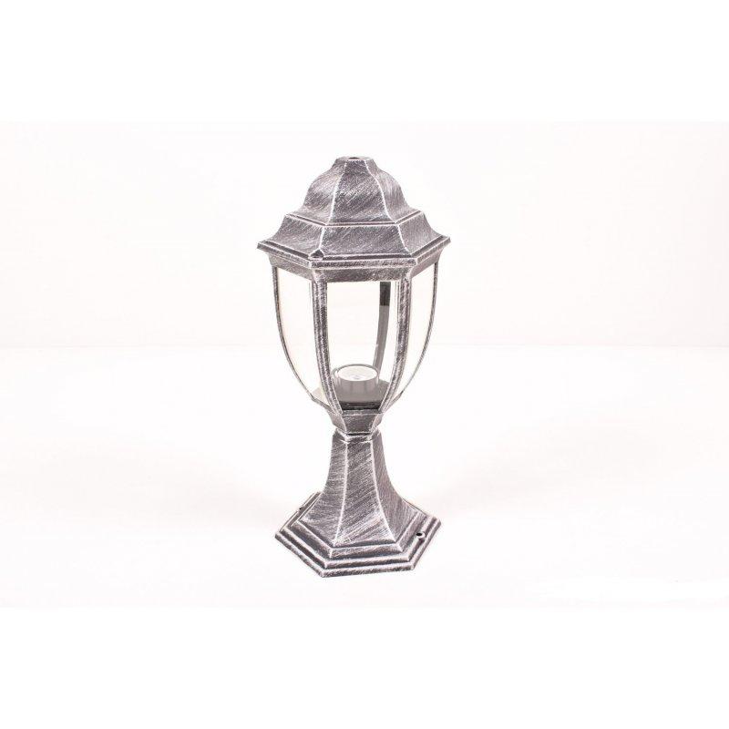 Светильник парковый RIGHT HAUSEN (метал/античное серебро) 60W E27 (на подставке) HN-19.3.04.9