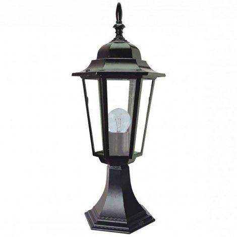 Светильник парковый RIGHT HAUSEN (метал/стекло/черный) 60W E27 (на подставке) HN-19.3.04.2