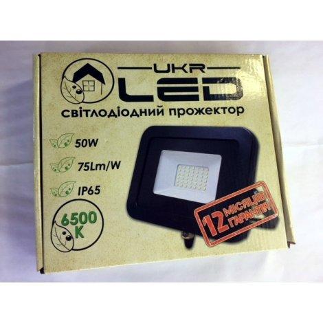 Светодиодный прожектор UkrLED I-PAD Standart 50W 3750Lm