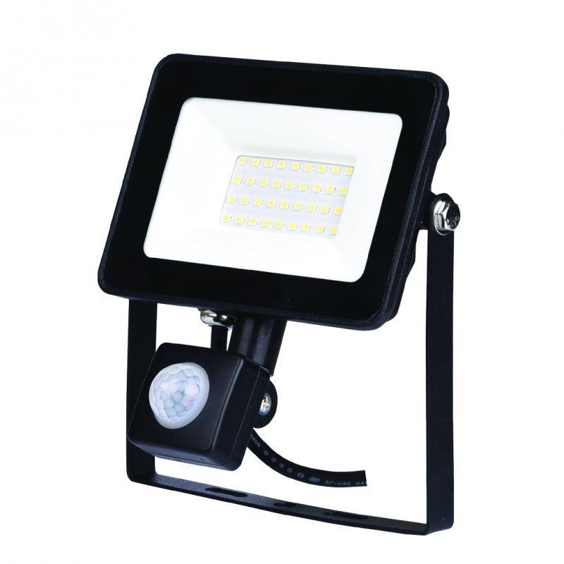 Светодиодный прожектор Z-LIGHT ZL4108 30W 6400K с датчиком движения