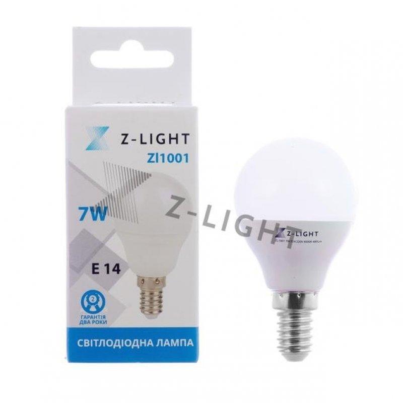 Светодиодная лампа Z-LIGHT ZL1001 7W E14 4000K