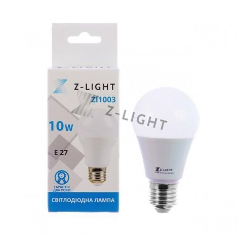 Светодиодная лампа Z-LIGHT ZL1003 10W E27 4000K/6400K