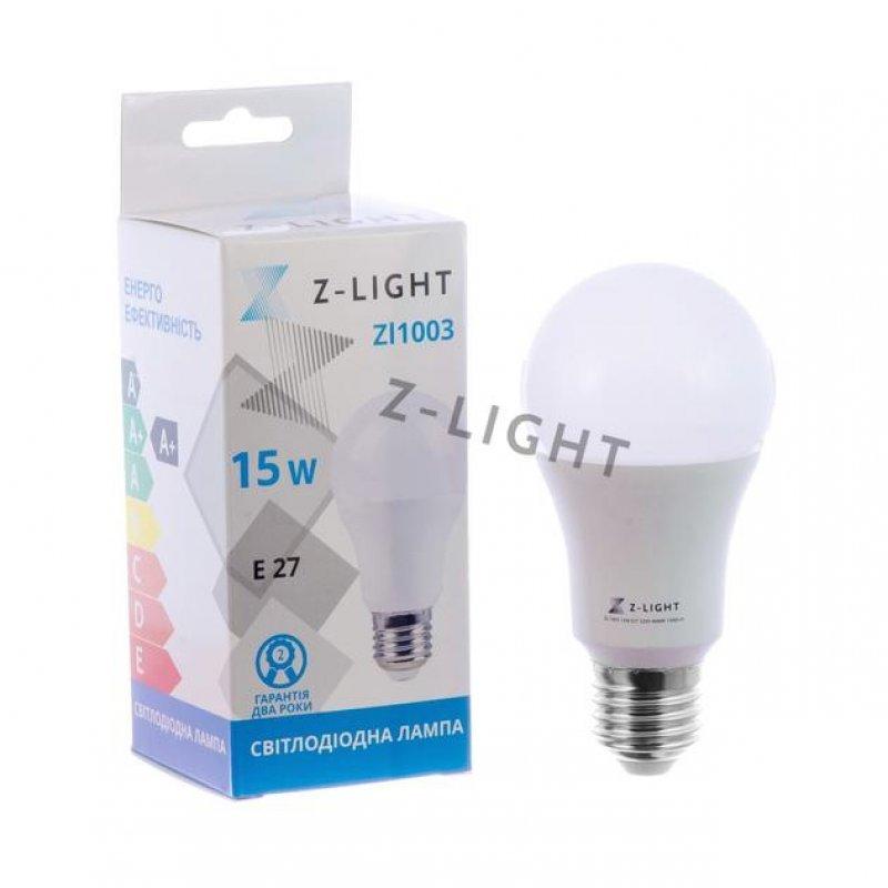 Светодиодная лампа Z-LIGHT ZL1003 15W E27 4000K/6400K