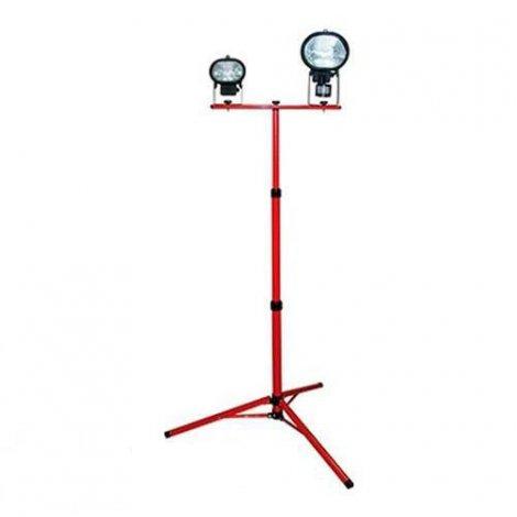 Стойка металлическая для прожекторов e.halogen.base.2.150.500 красный