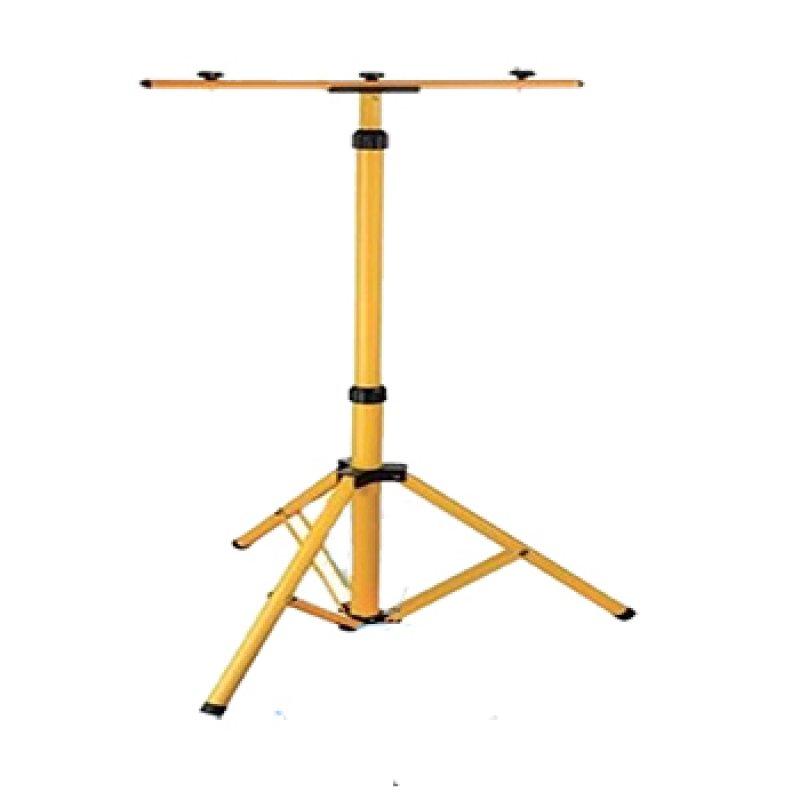 Стойка металлическая для прожектора Lemanso 2 м желтая