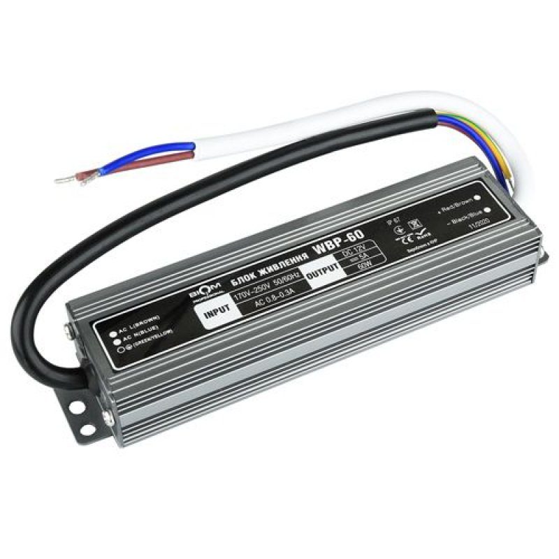 Блок питания BIOM Professional DC12 60W WBP-60-12 5А герметичный