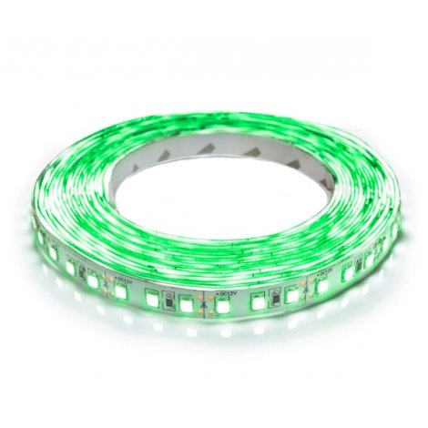 Светодиодная лента OEM ST-12-2835-120-G-20 зеленая негерметичная 1м
