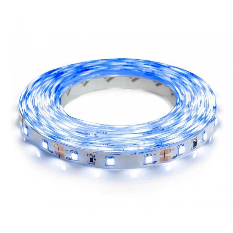 Светодиодная лента OEM ST-12-2835-60-B-20 синяя негерметичная 1м