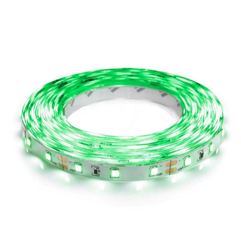Светодиодная лента OEM ST-12-2835-60-G-20 зеленая негерметичная 1м