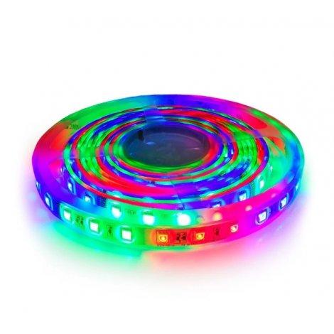 Светодиодная лента OEM ST-12-5050-60-FRGB-20 WS2811 негерметичная 1м