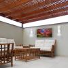 Светильник садово-парковый фасадный Feron DH012 4000К IP54 белый/черный