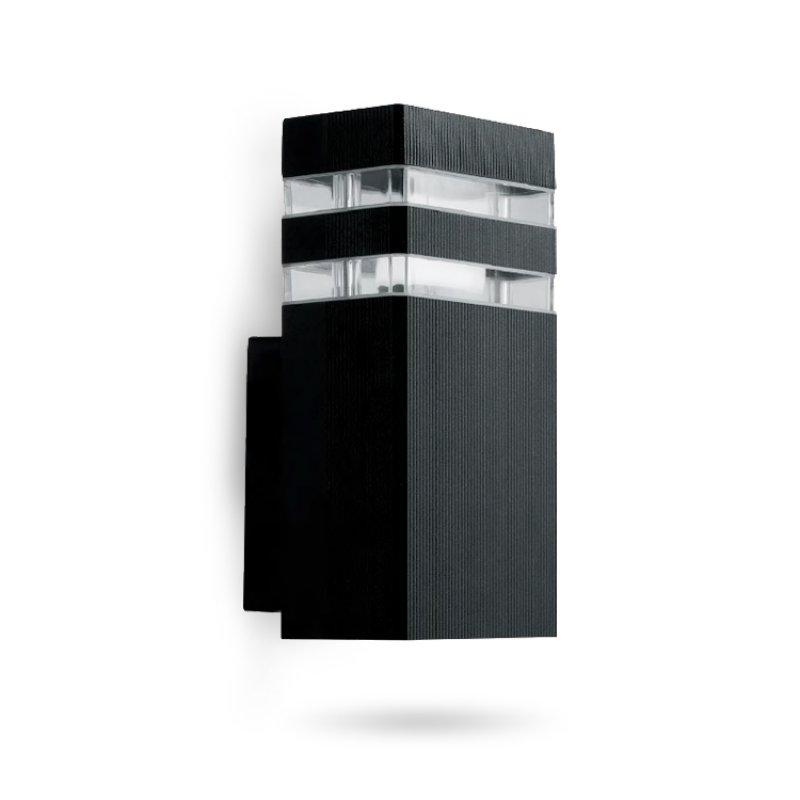Светильник садово-парковый фасадный Feron DH0806 60W E27 черный