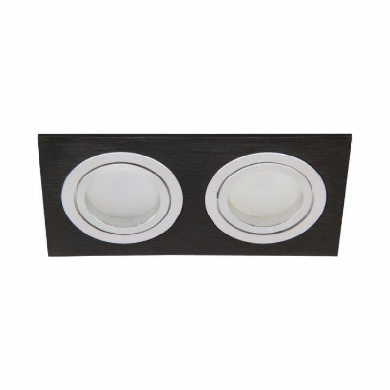 Встраиваемый светильник Feron DL6122 50W G5.3 Белый/Серебро/Черный
