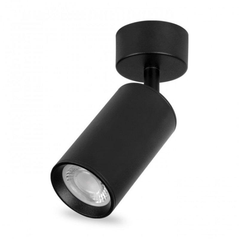 Накладной поворотный светильник Feron ML310 GU10 Черный/Белый