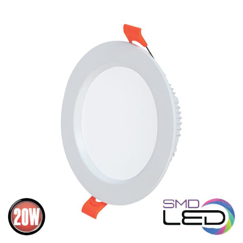 Светильник врезной светодиодный HOROZ Eleсtric ALEXA-20 20W 1500lm