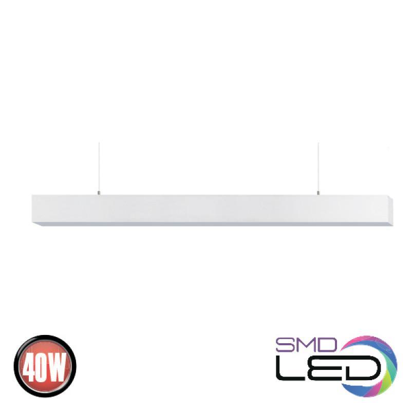 Светильник линейный Horoz Electric INNOVA5-40 40W IP20 Белый/Черный