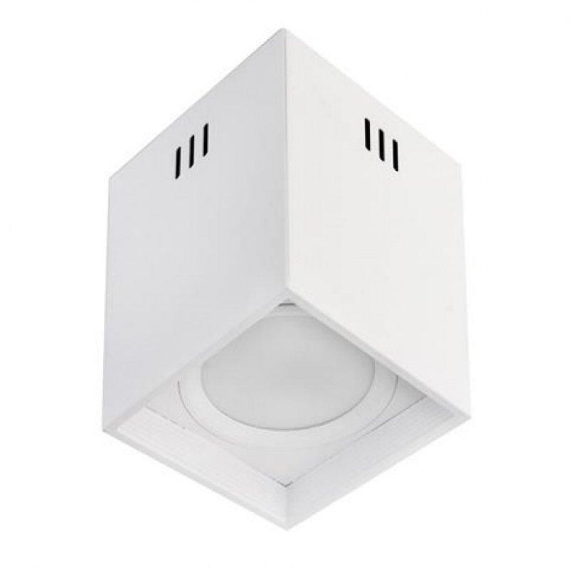 Светодиодный светильник Horoz Electric SANDRA-SQ10/XL 10W Белый/Черный