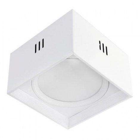 Светодиодный светильник Horoz Electric SANDRA-SQ15 15W Белый/Черный