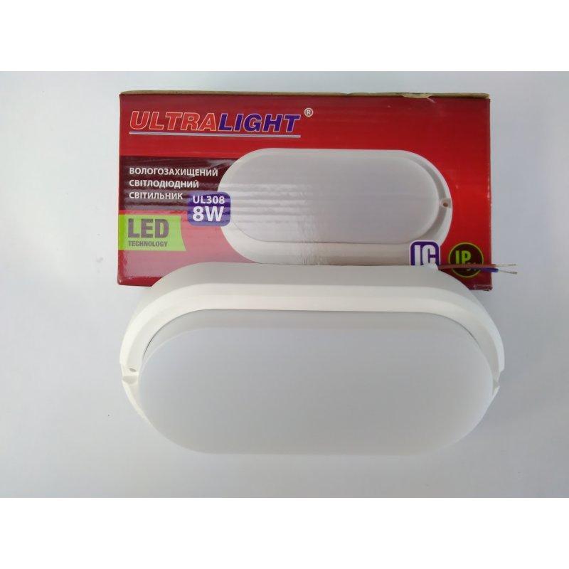 Светильник Ultralight UL 308 8W, овал, 4100К