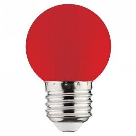 Светодиодная лампа HOROZ Electric RAINBOW синяя, белая, желтая, зеленая, красная 1W E27