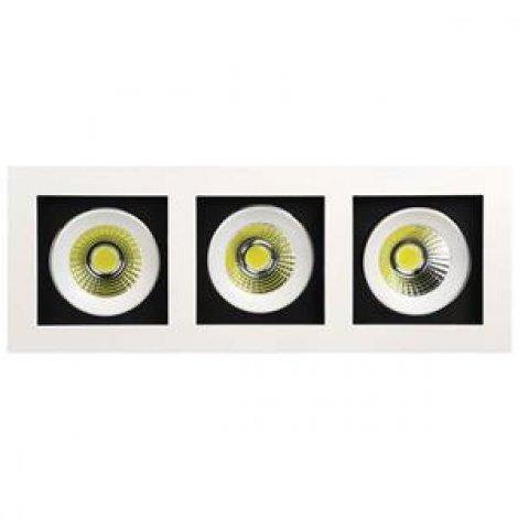 Светильник точечный светодиодный HOROZ Electric SABRINA - 24 2700/6400K 24W