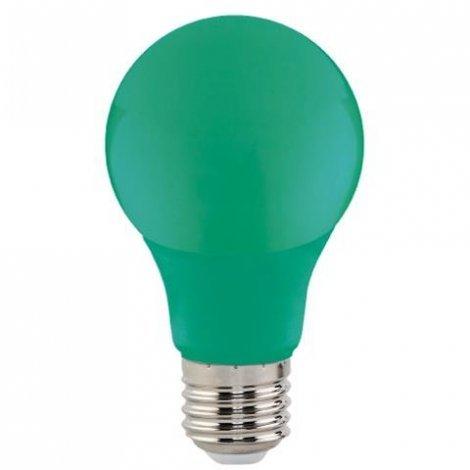 Светодиодная лампа HOROZ Electric SPECTRA синяя, желтая, зеленая, красная 3W E27