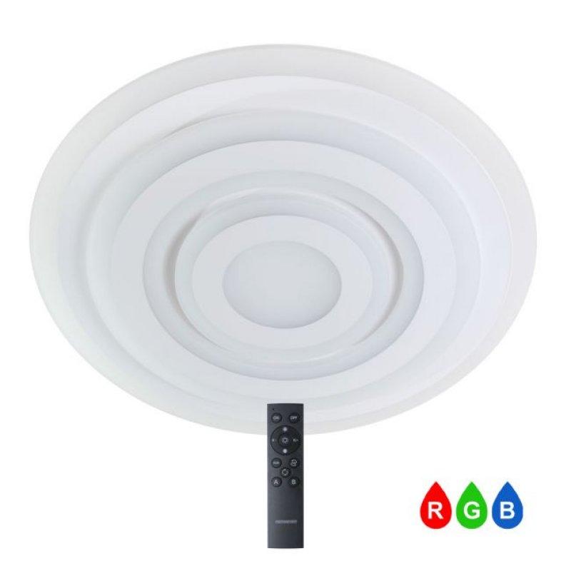 Светильник светодиодный СВЕТКОМПЛЕКТ LED ACRYLIC 04R 95W WH RC