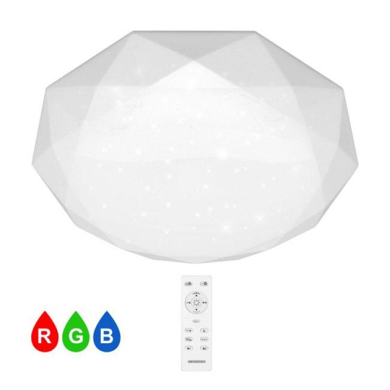 Светильник светодиодный СВЕТКОМПЛЕКТ MF-L 68 RGB TX IR RC с пультом ДУ