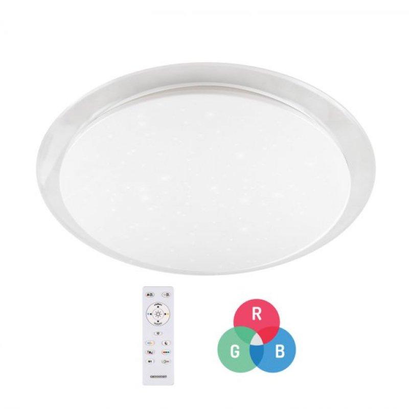 Светильник светодиодный СВЕТКОМПЛЕКТ SG-455-50W RGB TX IR RC с пультом ДУ