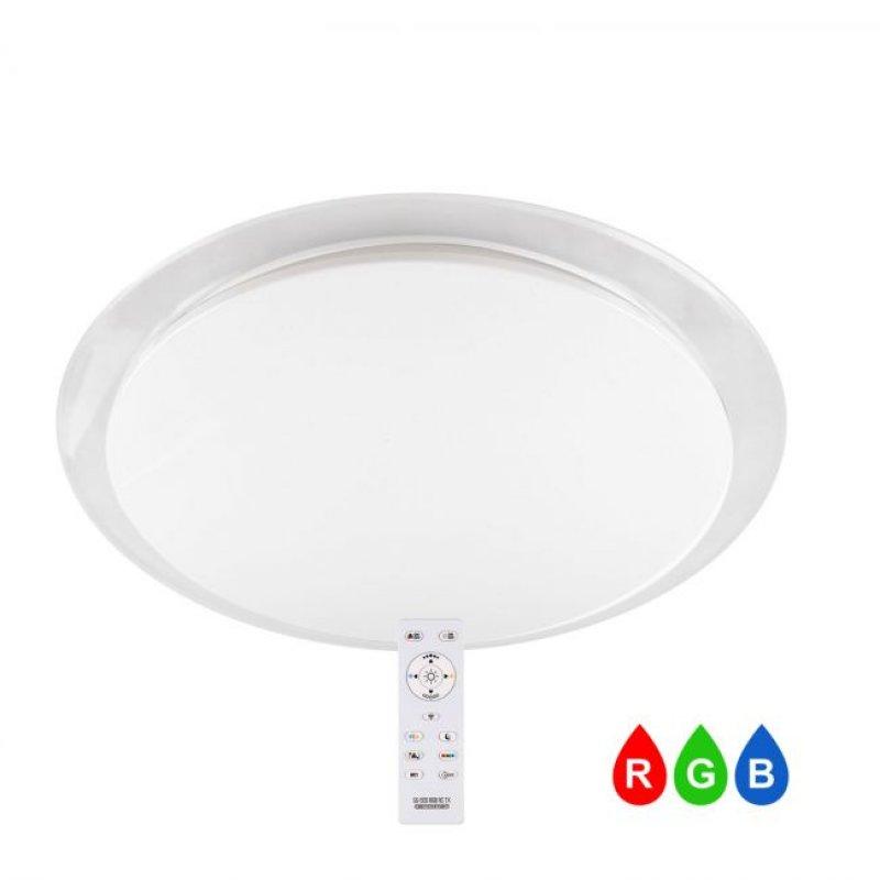 Светильник светодиодный СВЕТКОМПЛЕКТ SG-555-68 RGB TX IR RC с пультом ДУ