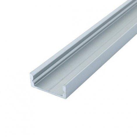 Профиль алюминиевый BIOM ЛП7 6.5х15, неанодированный (палка 2м), м
