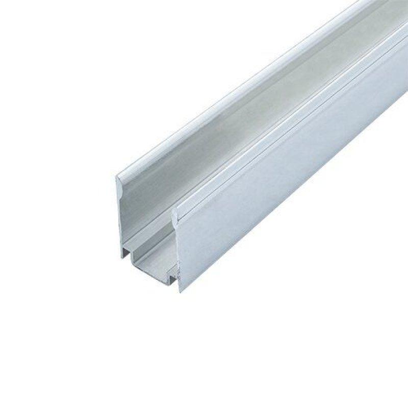 Профиль алюминиевый BIOM ЛПН-18 для крепления ленты NEON RGB, (палка 2м) м