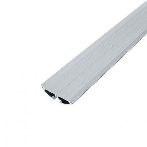 Профиль алюминиевый BIOM ЛПР-60 полукруглый, анодированный (палка 2м), м