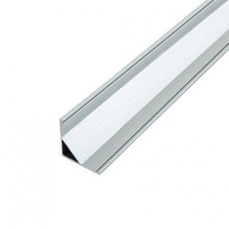 Профиль алюминиевый BIOM угловой ЛПУ16 16х16 анодированный (палка 2м), м