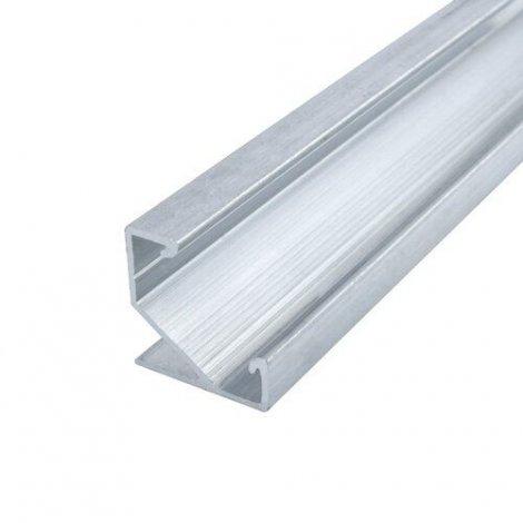Профиль алюминиевый BIOM угловой ЛПУ17 17х17 неанодированный (палка 2м), м
