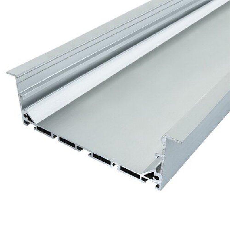 Профиль алюминиевый BIOM ЛСВ-100 35*100мм анодированный, 1м