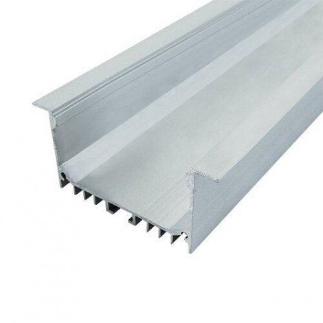Профиль алюминиевый BIOM ЛСВ-55 32*55мм анодированный, 1м