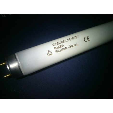 Люминесцентная лампа OSRAM T8 FLUORA L15W/77 G13