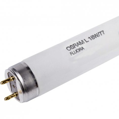 Люминесцентная лампа OSRAM T8 FLUORA L18W/77 G13